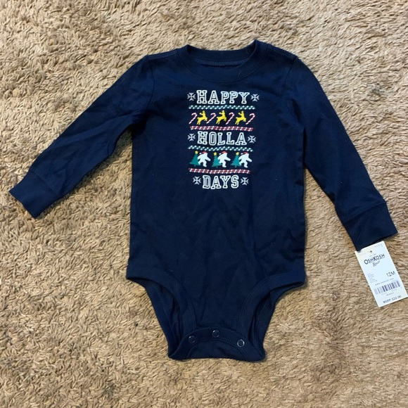 Carters holiday onesie